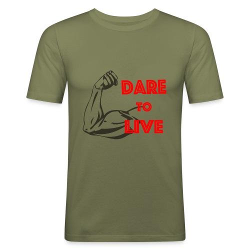 Dare2Live - slim fit T-shirt