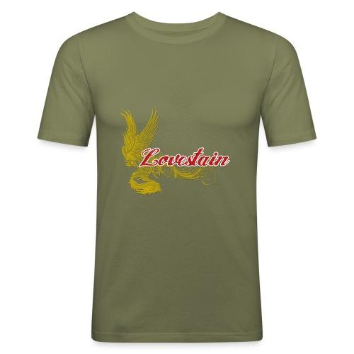 Lovestain - Slim Fit T-shirt herr