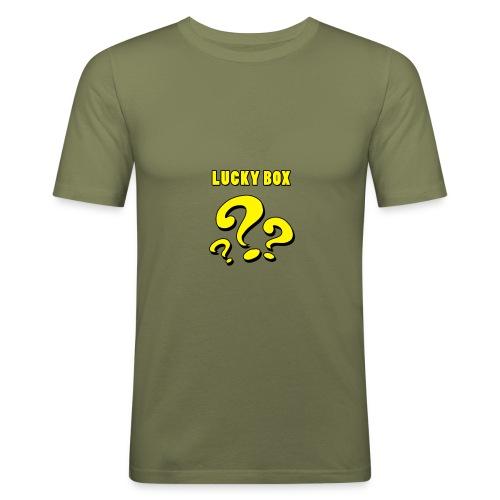Lucky Box - Slim Fit T-shirt herr