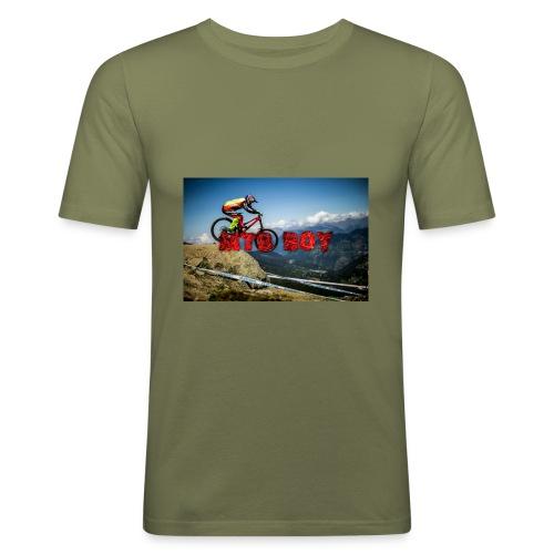mtb boy clothes - Men's Slim Fit T-Shirt