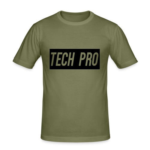 Tech Pro Official Logo - Men's Slim Fit T-Shirt