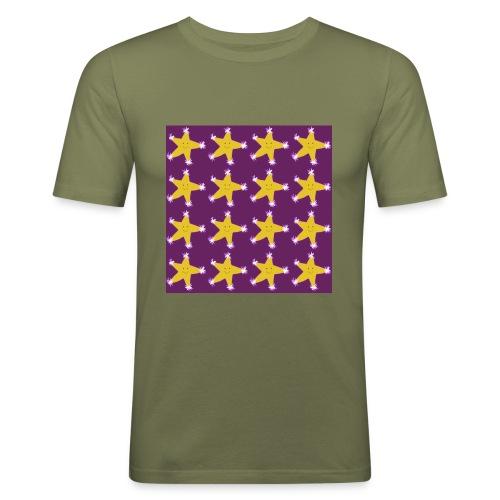 Starry pattern - Men's Slim Fit T-Shirt