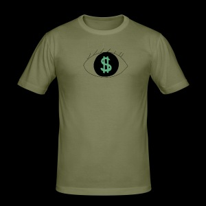 Eyes worlds $ - Tee shirt près du corps Homme