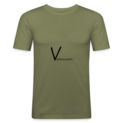 Velodrome2001 logga! - Slim Fit T-shirt herr