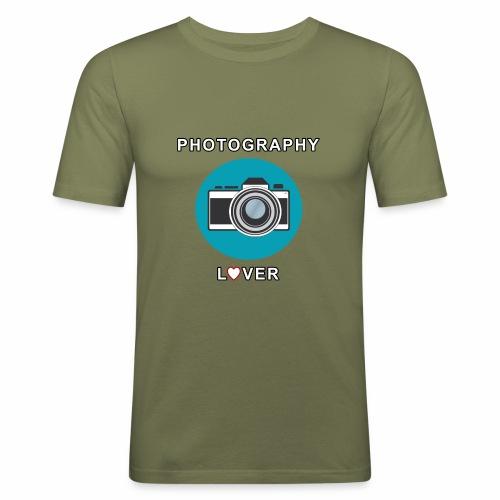 Photography Lover - Maglietta aderente da uomo