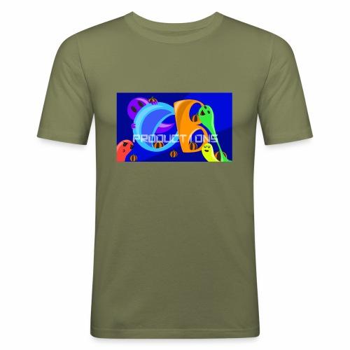 OB Productions Halloween 2017 Logo - Men's Slim Fit T-Shirt