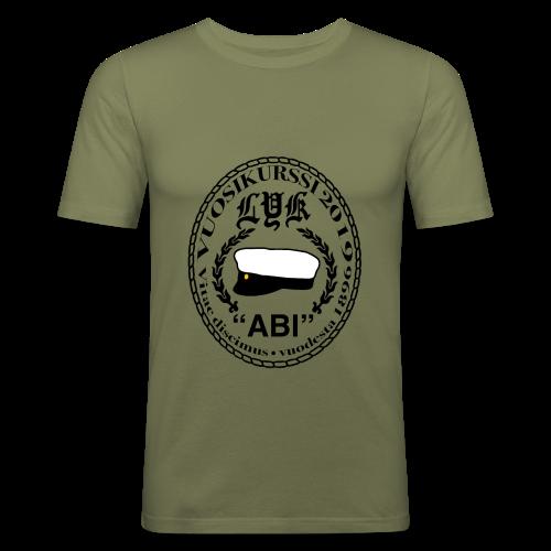 LYK ABI - Miesten tyköistuva t-paita