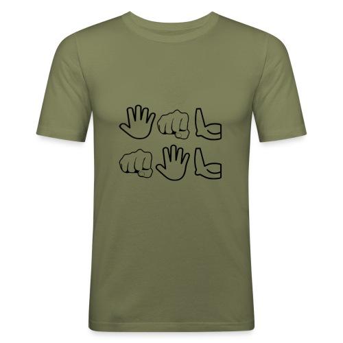 De Leyaro T-shirt lange mouwen - slim fit T-shirt