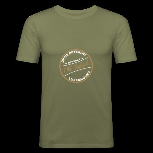 Runde 3 - Männer Slim Fit T-Shirt