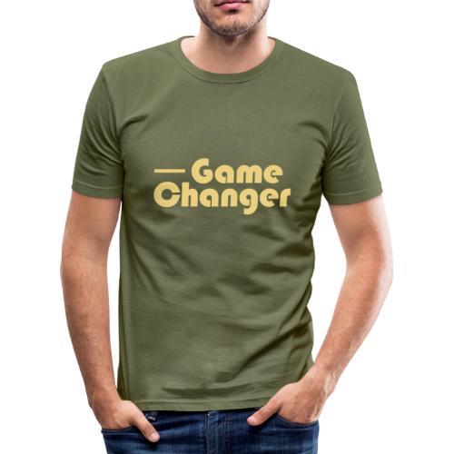 Game Changer - Men's Slim Fit T-Shirt