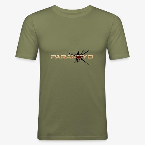 Paranoyd-Logo - Männer Slim Fit T-Shirt