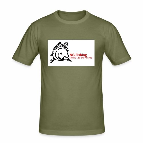 ng fishing logo new - Men's Slim Fit T-Shirt