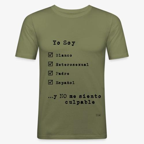IDENTITAS Hombre - Camiseta ajustada hombre