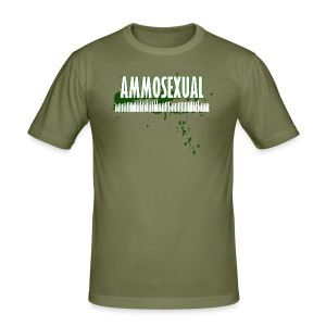 Ammosexual Multi-Caliber (white) - Männer Slim Fit T-Shirt