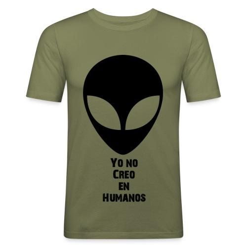 Yo no Creo en Humanos - Camiseta ajustada hombre