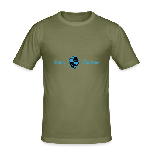 Banner logo - Men's Slim Fit T-Shirt