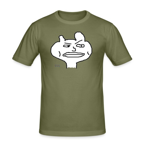 Rich Guy - Männer Slim Fit T-Shirt