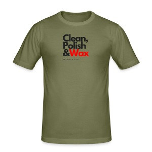 Clean,polish en wax - slim fit T-shirt