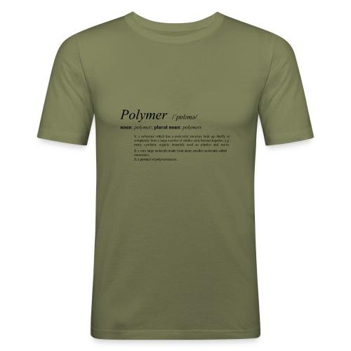 Polymer definition. - Men's Slim Fit T-Shirt