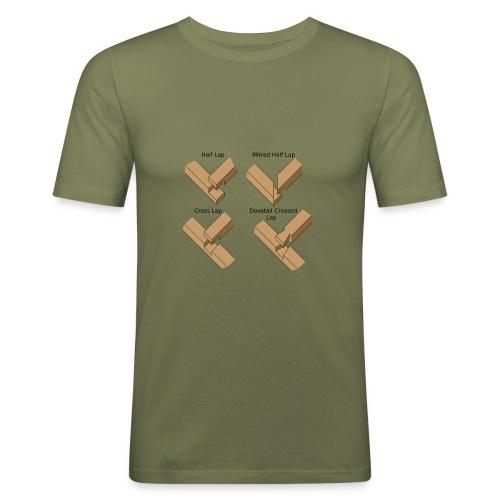 Lap joints - Men's Slim Fit T-Shirt