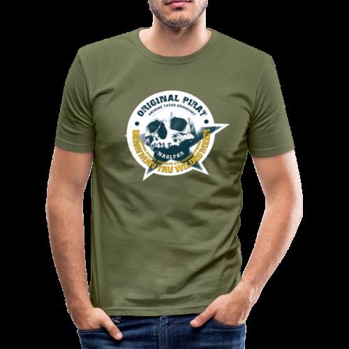 Naglfar 3 - Männer Slim Fit T-Shirt