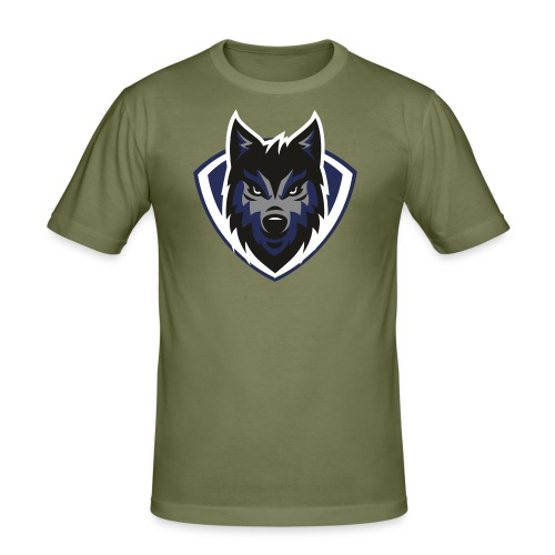 lobo2 - Camiseta ajustada hombre
