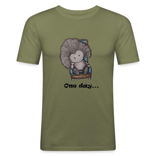 Marcelleke - Le penseur - Männer Slim Fit T-Shirt