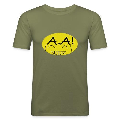 A.A! - Männer Slim Fit T-Shirt