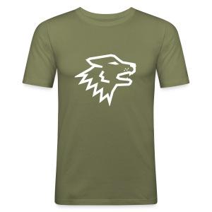 Nitch Wolf Logo - slim fit T-shirt