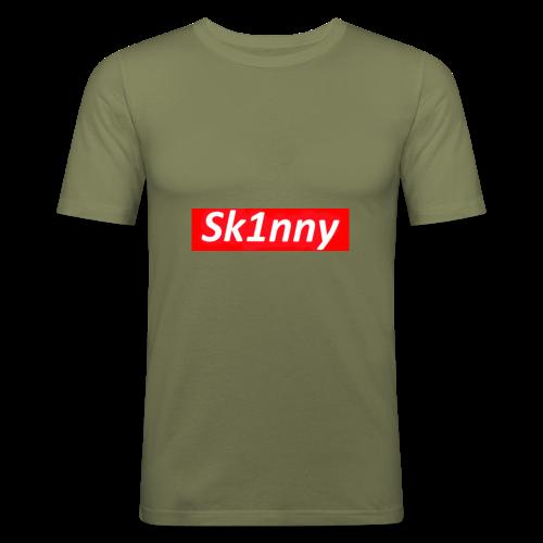 Sk1nny Logo - Men's Slim Fit T-Shirt