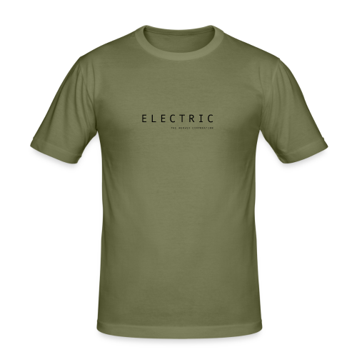 Electric - Men's Slim Fit T-Shirt