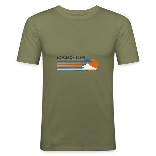 Somerton Beach: Tamam Shud Mystery - Men's Slim Fit T-Shirt