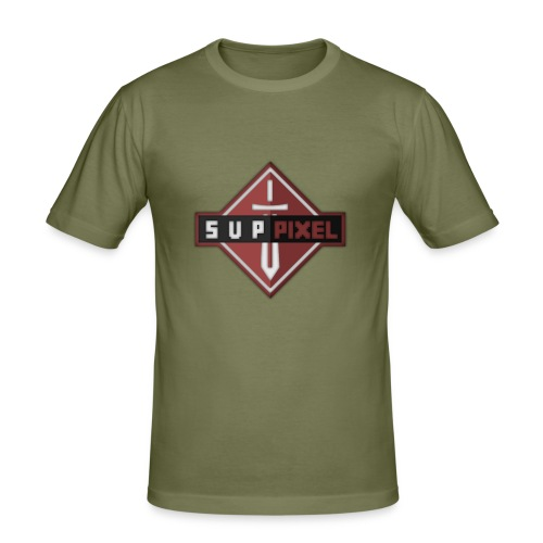 SupPixel Shirt - Men's Slim Fit T-Shirt
