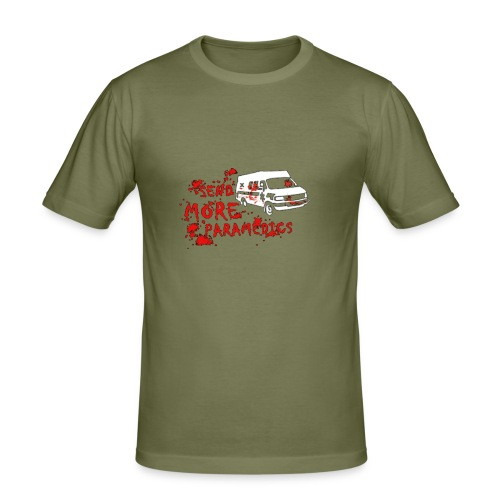 Send More Paramedics - Men's Slim Fit T-Shirt