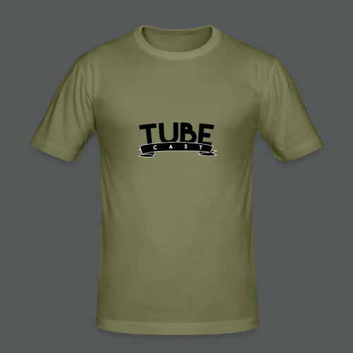TubeCast - Männer Slim Fit T-Shirt