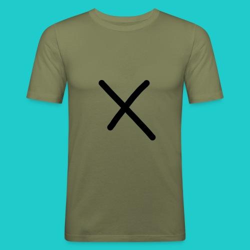 X - Männer Slim Fit T-Shirt