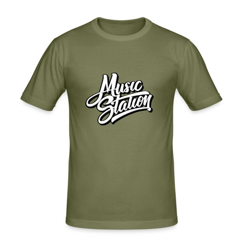 l4444ogotip - Men's Slim Fit T-Shirt
