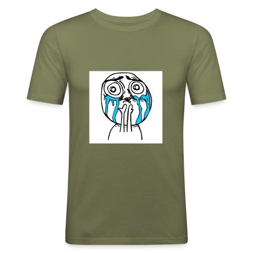 happy-cuteness-overload-l - Men's Slim Fit T-Shirt