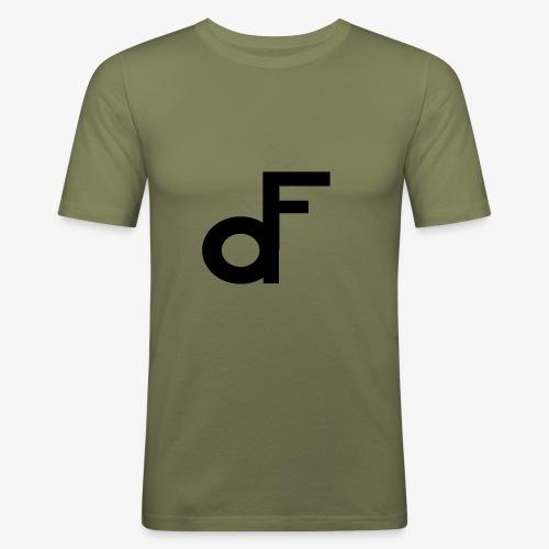 Min Logo - Slim Fit T-skjorte for menn