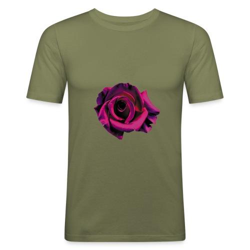 Lila Ros - Slim Fit T-shirt herr