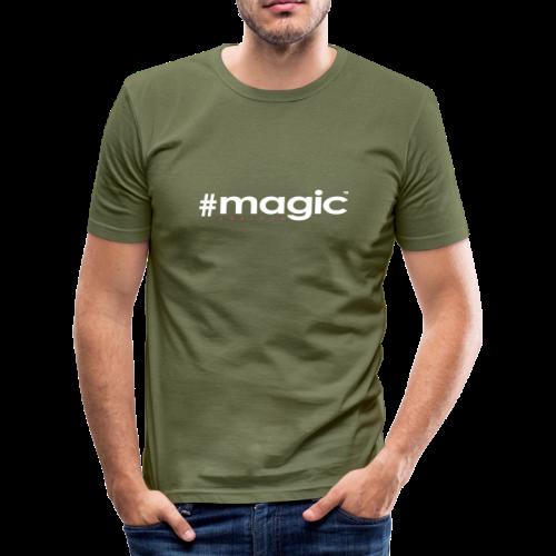 # magic - Männer Slim Fit T-Shirt