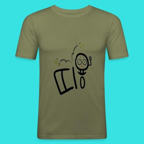 11b - Obcisła koszulka męska
