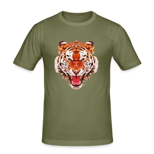 tiger low - T-shirt près du corps Homme