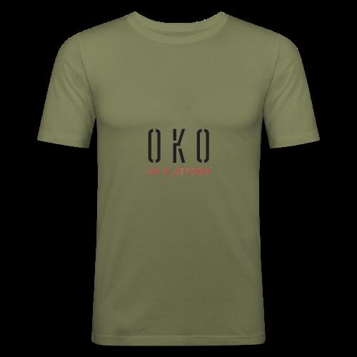 OKO VR PLATFORM - Men's Slim Fit T-Shirt