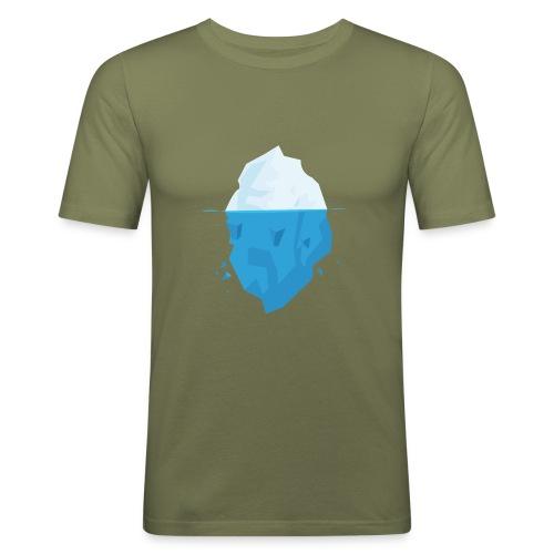 Iceberg - Maglietta aderente da uomo