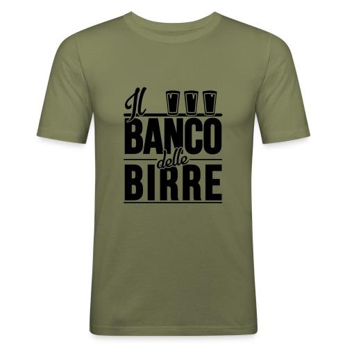 Il Banco delle Birre - Maglietta aderente da uomo