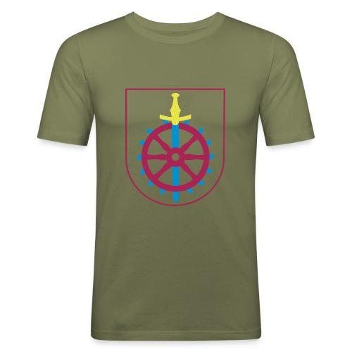 Weißenseer Wappen - Männer Slim Fit T-Shirt