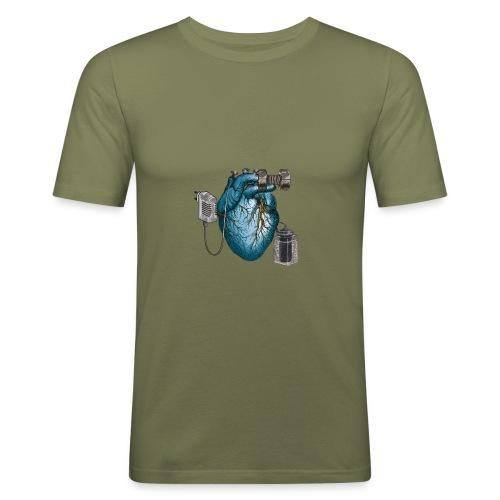 Mezzometro - Heartz - Maglietta aderente da uomo