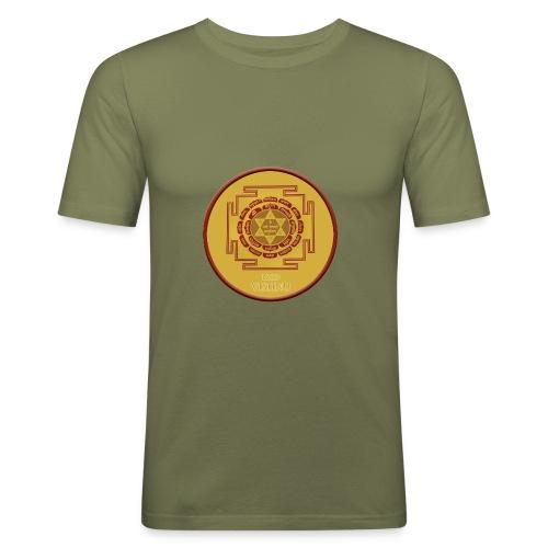 lord vishnu ynatra - T-shirt près du corps Homme