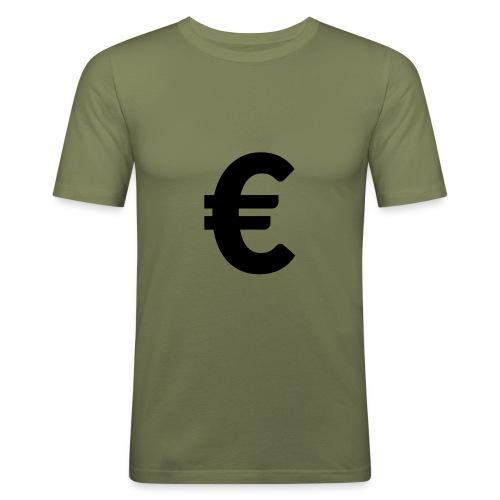 EuroBlack - T-shirt près du corps Homme